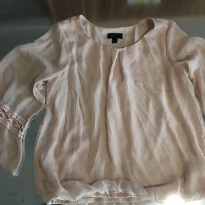 Medium pale pink blouse